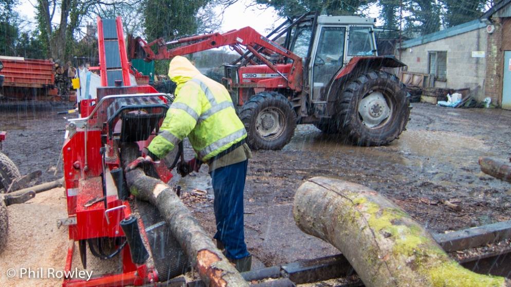 Firewood Processor