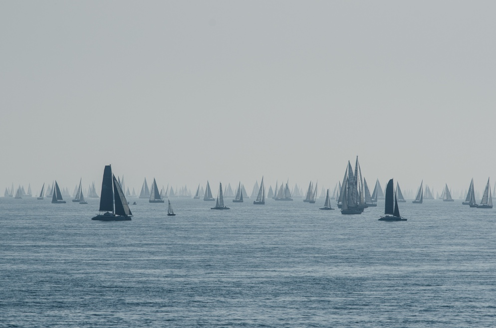 Round The Island Race, Hampshire, UK