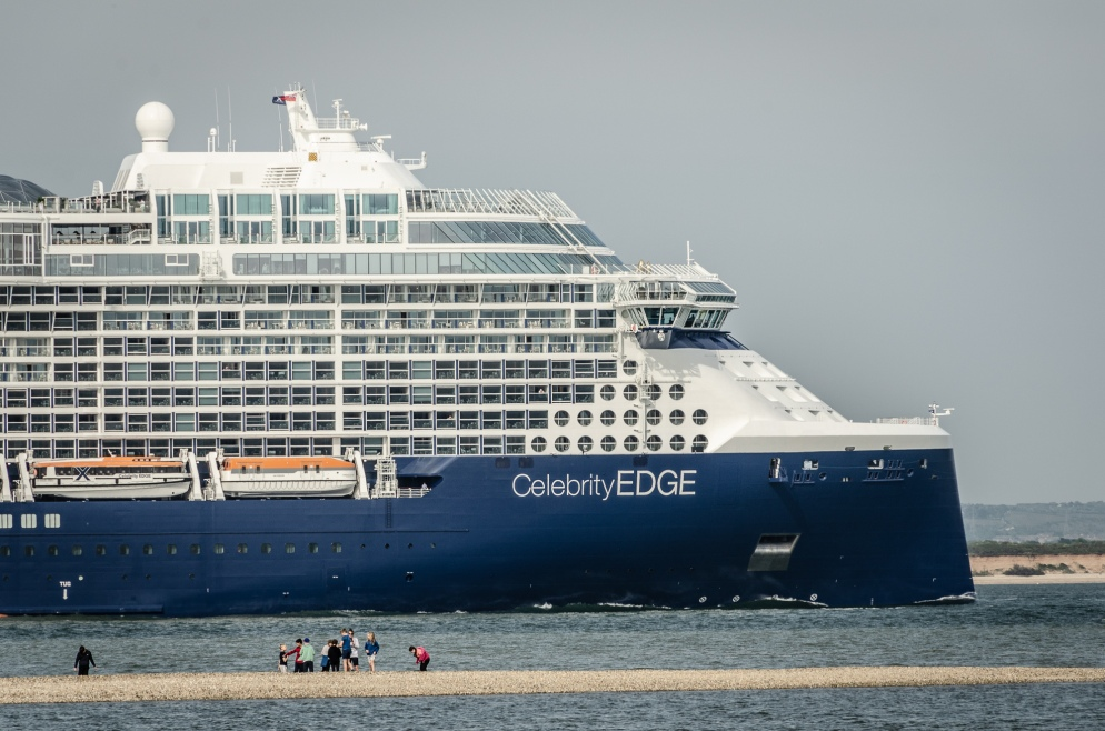 Celebrity Edge leaving Southampton