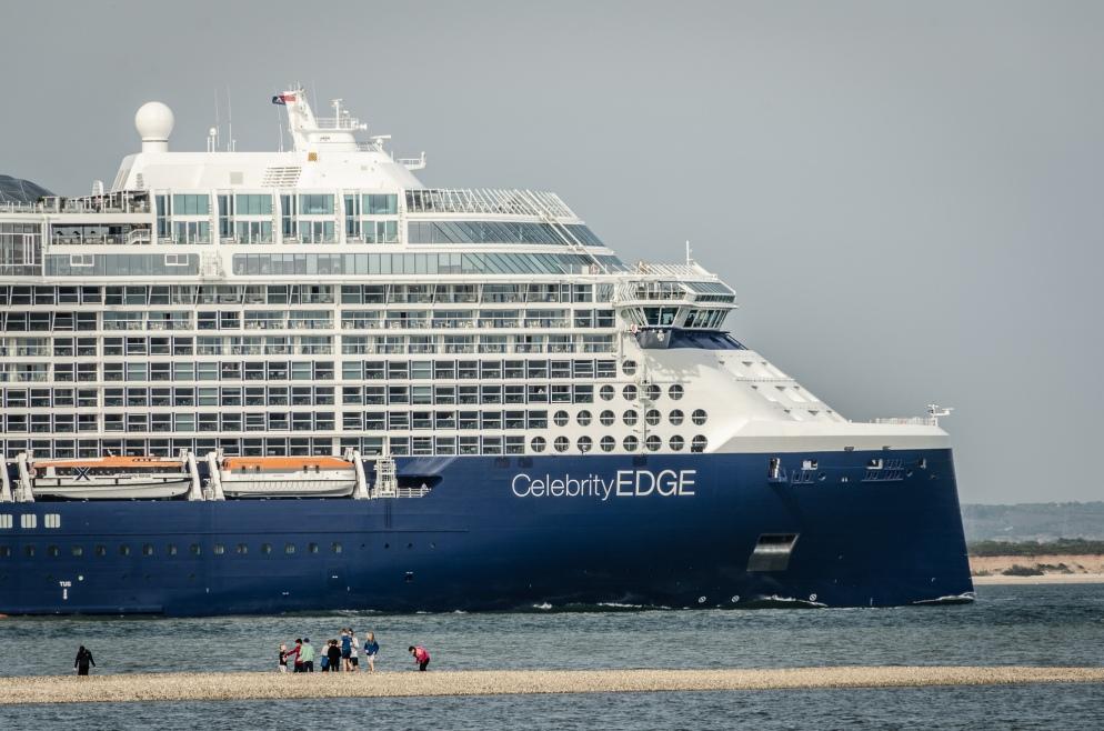 Celebrity Edge leaving Southampton