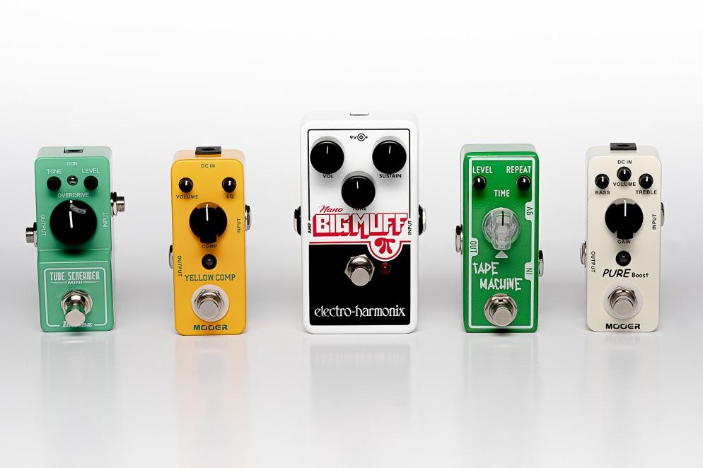 mini guitar pedals